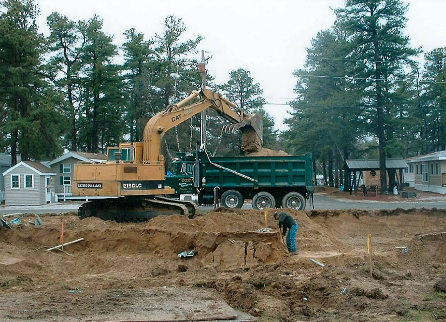 Gw Brooks And Son Totem Pole Park Septic Replacement