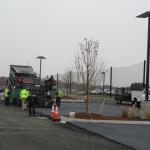 Porous asphalt wearing course