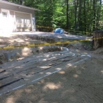 Redesigned Septic System Installed and Ready for NH State Inspection