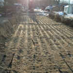 EDA4 Prior to final System Sand Placement