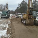 Installing Crushed Gravel on EDA1