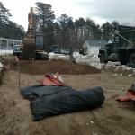Installing Crushed Gravel on EDA1(2)