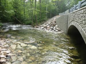 Alton Places Mill Road Bridge. Alton, NH.