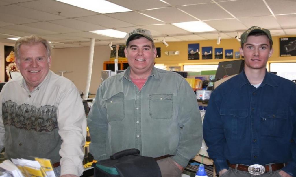 Wendell (left), Scott (middle) and Scott Brooks Jr. (right)