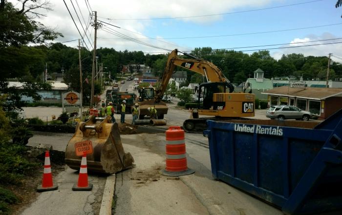 Center Street Road Reconstruction