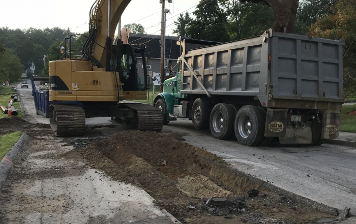 Pine and Lehner Street Water Improvements